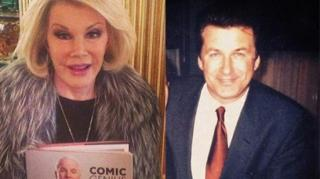 "Joan Rivers Defends Baldwin, ""Everyone's a F*g, Ni**er, K*ke"""