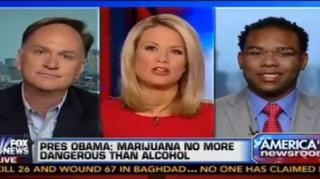Fox News Anchor Argues Against Legalization of Herb