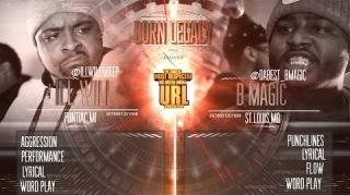 "Smack/URL ""Born Legacy"" Battle: Ill Will vs B-Magic"
