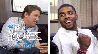"Kyrie Irving Does Great ""Bane"" Impersonation in Funny Interview"
