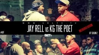 BET 106 & Park Smack/URL UFF Battle: Jay Rell vs KG The Poet