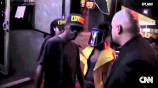 "Kurupt Spotted Wearing ""V. Stiviano"" Hat Outside LA Restaurant"