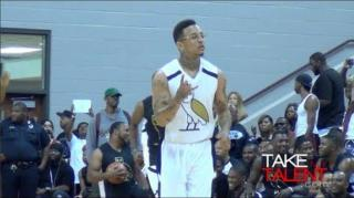 Kirko Bangz Drops 27 Points in One Half at HAW Celebrity Game