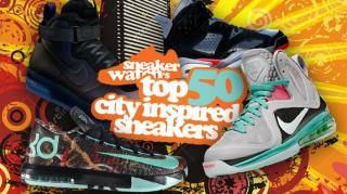 SneakerWatch's Top 50 City Inspired Sneakers