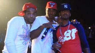 Dipset Hits the Stage to Perfom 'Salute' in D.C.