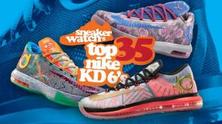 Hot Content: SneakerWatch's Top 35 Nike KD 6's