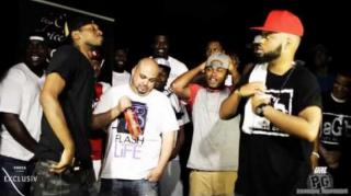 Smack/URL Battle: Th3 Saga (Christian Rapper) vs. Blaqu Mugga