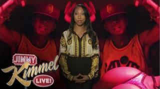 Tyga's Mother Reads Lyrics to 'Rack City' on Jimmy Kimmel Live