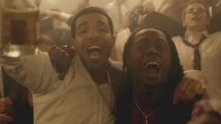 "Lil Wayne & Drake Perform New Song ""Grindin"" on Interactive Tour"