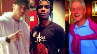 A$AP Rocky: Eminem & Bill Clinton Are N****s Just Like Me