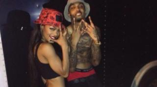 August Alsina Chills With Teyana Taylor in Extremely Rare 7's