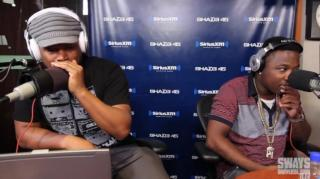 Sway Catches Troy Ave Using His Phone During Freestyle