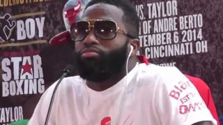 Adrien Broner Speaks 'Bronish' Before Emmanuel Taylor Match
