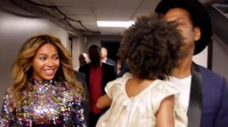 Blue Ivy & Beyonce Share Special Moment in BTS VMA Video