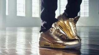 Usher Breaks Out Gold Jordan 3's for New Honey Nut Cheerios Ad