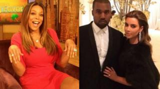 Wendy Williams Literally Eats Crow Over Kim/Kanye Bet