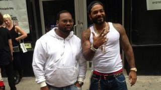 Jim Jones Hits the Streets With Raekwon in Fresh Jordan 1's