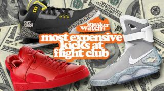 SneakerWatch's 50 Most Expensive Kicks Available at Flight Club!