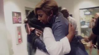 K. Michelle Tears Up While Meeting Her Idol Mary J. Blige