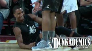 Ouch! Trey Songz Gets Crossed Over During All-Star B-Ball Game