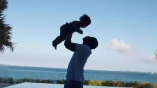 Blue Ivy Does Push-Ups With Jay Z in Adorable Family Videos