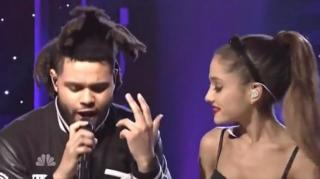 The Weeknd Hits the Stage With Ariana Grande for SNL Debut