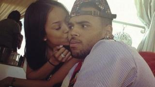 Chris Brown Shoves Fan for Trying to Kiss Him