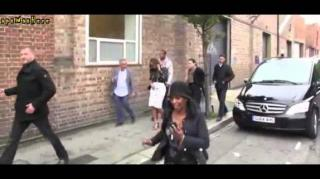 Jay Z Checks Paparazzo Trying to Sweet Talk Beyonce