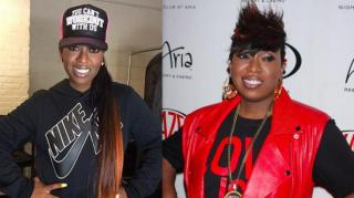 Missy Elliott Presents Slender Figure During H&M Fashion Show