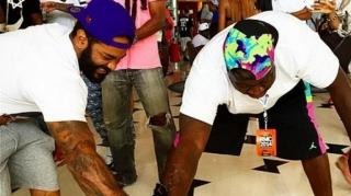 Jim Jones Almost Trashes His Jordans With New Vamp Life Soda