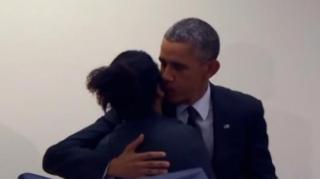 "Jealous Man Tells President Obama: ""Don""t Touch My Girlfriend"""