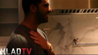 Drake Comes Off the Top Spitting Battle Bars in His Kitchen