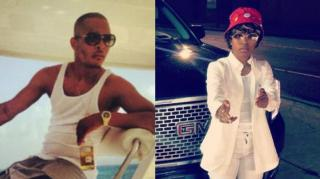 T.I. Bucks Up After Someone Throws Bottle at Dej Loaf