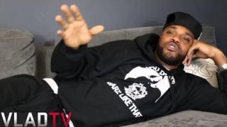 Math Hoffa Talks Ending Beef w/ Serius Jones at Total Slaughter