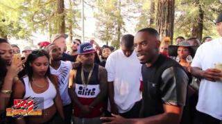 Da Jungle Battle: Fresh Wess Spazzes on Opponent With Hard Bars