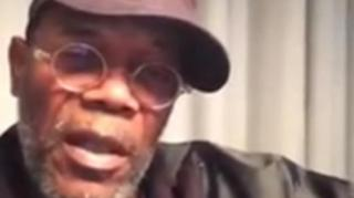 "Samuel L. Jackson Challenges Celebs to Call Out ""Racist Police"""