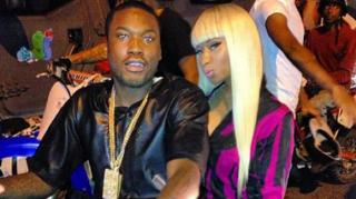 Nicki Minaj Gets Flustered When Asked About Dating Meek Mill