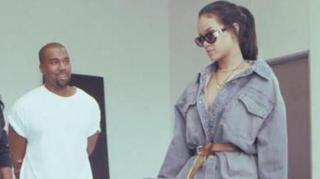 "Rihanna Speaks on Kanye's Influence In BTS of ""FourFiveSeconds"""