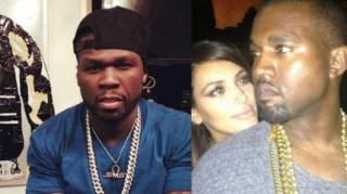 50 Cent Impersonates Kanye's Post-Grammy Beck Snub
