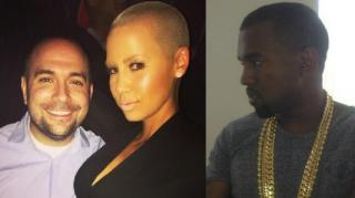 Rosenberg Defends Amber Rose From Kanye: He Cried Over Her!