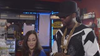 "2 Chainz Smokes 24kt Gold Joint for ""Most Expensivest"" Series"
