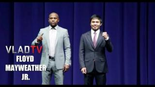 Mayweather on Pacquiao: This Is Biggest Fight in Boxing History