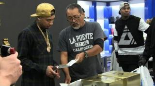 Tyga Gets Served Summons at His Own Sneaker Release Party