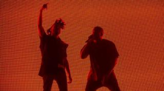 The Weeknd Brings Out Kanye West During Coachella Set