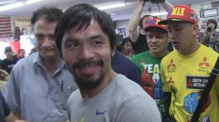 Manny Pacquiao: No Sex for 1 Month in Preparation for Fight