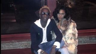 Young Thug Confirms Engagement to Girlfriend