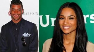 Russell Wilson Curves Ciara Dating Rumors at Press Conference