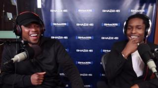 A$AP Rocky Takes Playful Jabs at 50 Cent in Freestyle (@asvpxrocky)
