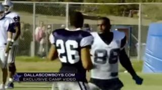 Image: Dallas Cowboys' Dez Bryant & Tyler Patmon Fight at Training Camp