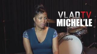 Flashback: Michel'le: I'm Not in NWA Biopic Because I Was Just Beat on GF